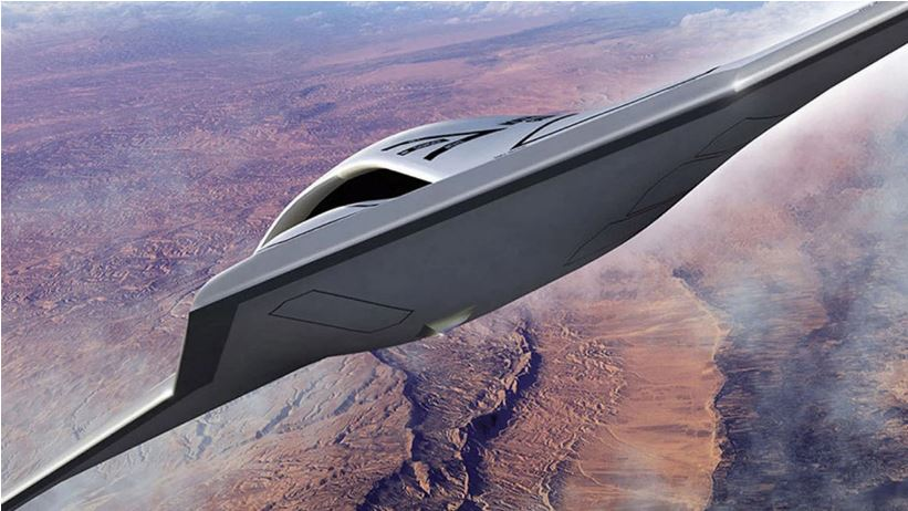 Fotografían posible avión espía furtivo no tripulado de Estados Unidos