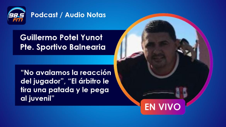 """""""El árbitro le tira una patada y golpea al juvenil"""""""